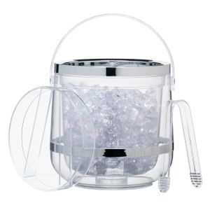 Barcraft Acrylic Double Walled Insulated Ice Bucket