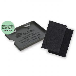All-Fresh Filter Holder & Filters - Odour Solution for Bins & Food Caddies