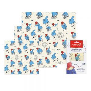 Ocean print Bee's Wrap Food Covers - Assorted Pack of 3