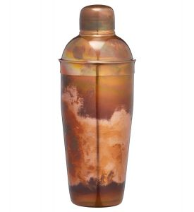 Stainess Steel Iridescent Copper Cocktail Shaker