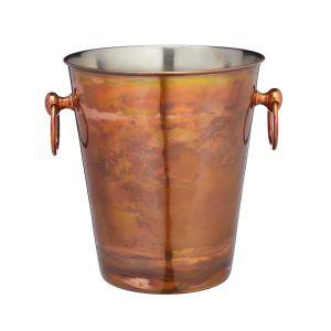 Stainless Steel Iridescent Copper Wine Bucket