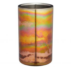 Stainless Steel Iridescent Copper Wine Cooler