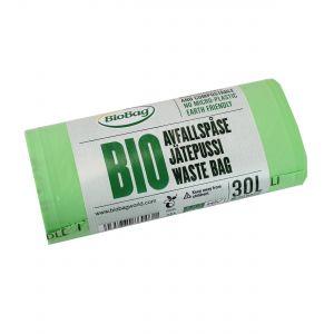 30L Biobag Compostable Indoor Bin/Kerbside Bin Liners