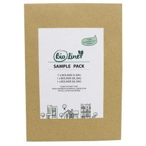 Sample Compostable Bag Pack - BioLiner 3L, 30L, 50L
