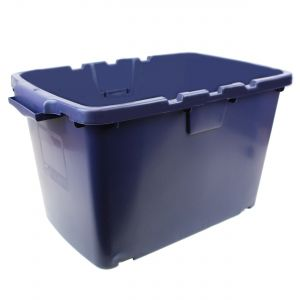 CORAL OUTDOOR RECYCLING/STORAGE BOX - 55L - BLUE