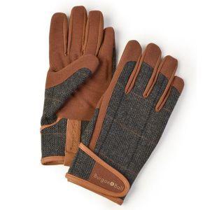 Burgon & Ball - DIG The Glove - Tweed - L/XL