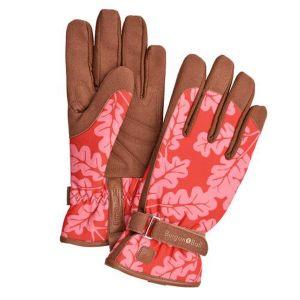 Burgon & Ball Love The Glove - Oak Leaf Poppy - M/L