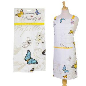 Eddingtons Butterfly - Tea Towel & Apron Set