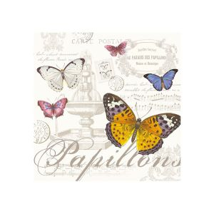 Eddingtons - Butterfly - 3PLY Napkins