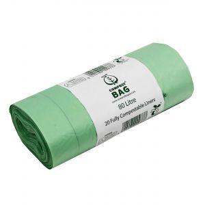 80L Compost Bag Compostable Swing Bin/Dustbin Liners