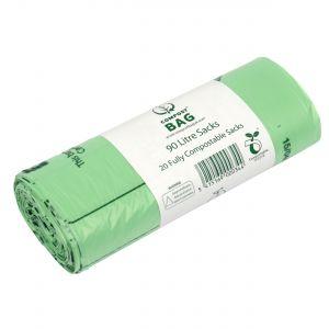 90L Compost Bag Compostable Commercial Bin Sacks