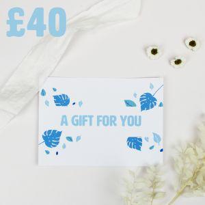 Caddy Company E-Gift Voucher - £40