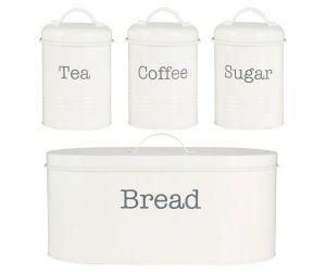 T/C/S & Bread Storage - Cream