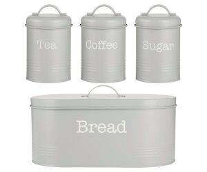 T/C/S & Bread Storage - Grey