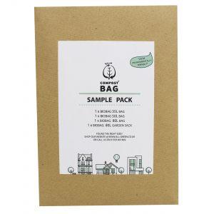 Sample Compostable Bag Pack - Compost Bag - 35/40L, 50L, 80L, 80L Garden