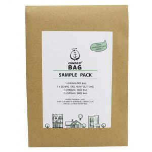 Sample Compostable Bag Pack - Compost Bag - 90L, 100L, 140L, 240L