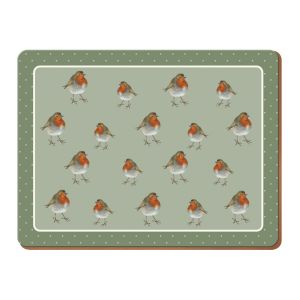 Creative Tops - Into the Wild Robin Placemats - Set of 6