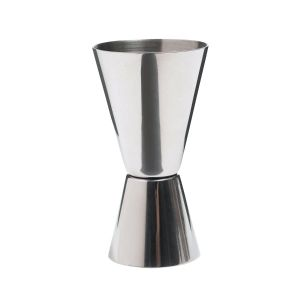 Barcraft Stainless Steel Dual Spirit Measure Cup