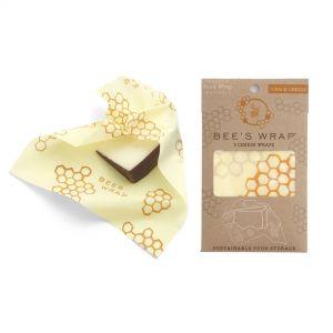 Bee's Wrap Cheese Wraps - Set of 3 - Honeycomb Design