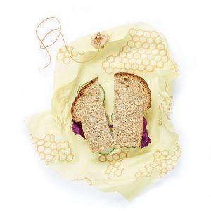 Bee's Wrap Sandwich Wrap - Honeycomb Design