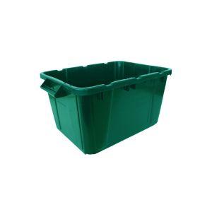 Ergo Recycling Box 55L - Green