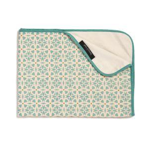 Keep Leaf Stroller Blanket - Geometric Design