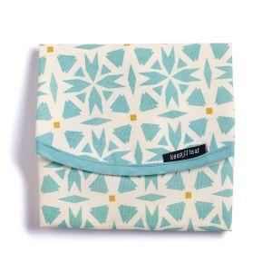 Keep Leaf Food/Sandwich Wrap - Geometric Design