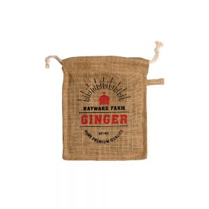 Jute Fibre Ginger Storage Bag/Sack