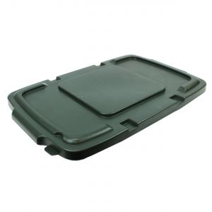 Green Coral Hard Plastic Lid for Outdoor Recycling Boxes