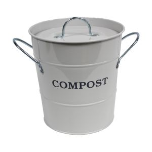 Garden Trading Chalk - Metal Compost Pail