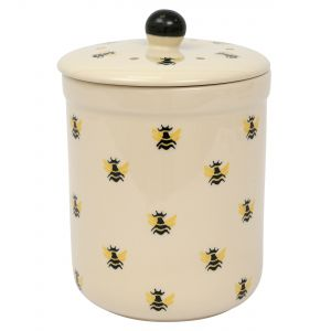 Haselbury Ceramic Compost Caddy - Honey Bee