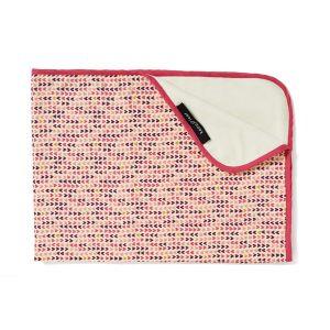 Keep Leaf Stroller Blanket - Hearts Design