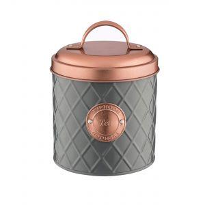 Henrik Copper Lid Tea Storage