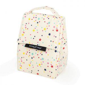 Keep Leaf Insulated Lunch Bag - Stars Design