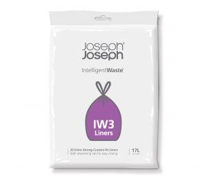 Joseph Joseph IW3 General Waste Liners - 17L Drawstring