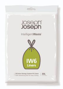 Joseph Joseph IW6 Custom-Fit General Waste Bin Liners