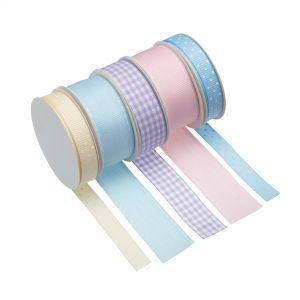 Cake Decorating Ribbon - Pastel Colours