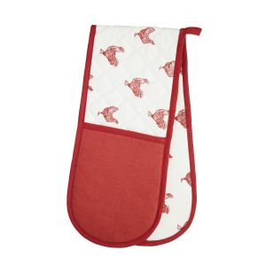 Kitchencraft Double Oven Glove - French Hen