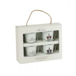 Egg Cup Set - His Lordship & Her Ladyship