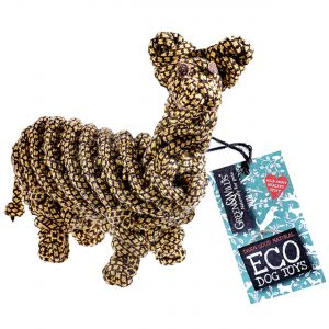 Green & Wilds Francois Le Frog Eco Dog Toy