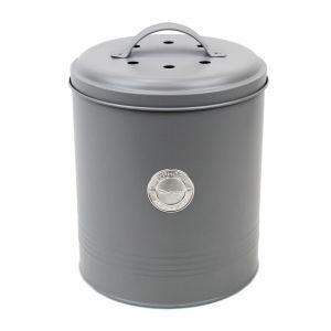 Caddy Company Metal Compost Pail - Food Waste Bin in Dark Blue - Main