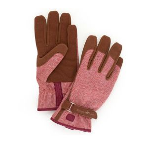 Burgon & Ball - Love the Glove - Red Tweed - S/M or M/L