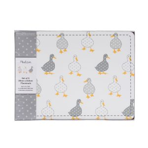 Madison Duck Cork Backed Placemats - Set of 4