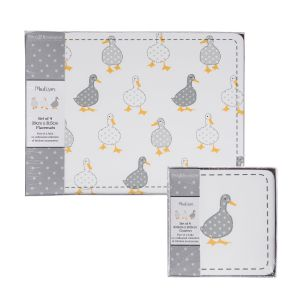Madison Duck Cork Backed Placemats & Coasters Set