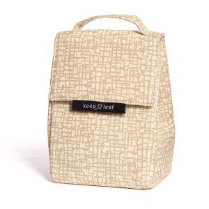 Keep Leaf Insulated Lunch Bag - Mesh Design