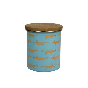 Scion Mr Fox Tea, Coffee, or Sugar Storage Jar 1.1L (Blue)