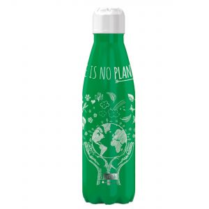 iDrink Insulated Stainless Steel Bottle – No Planet B 500ml