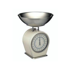 Kitchencraft Nostalgia Mechanical Kitchen Scales - Cream
