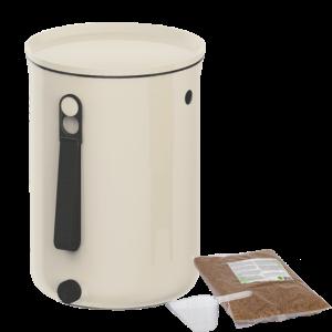 Organko Kitchen Composter - White (WITH Bran)