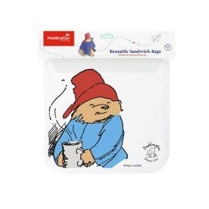 Paddington Bear Sandwich Zip Bags (Set of 2)